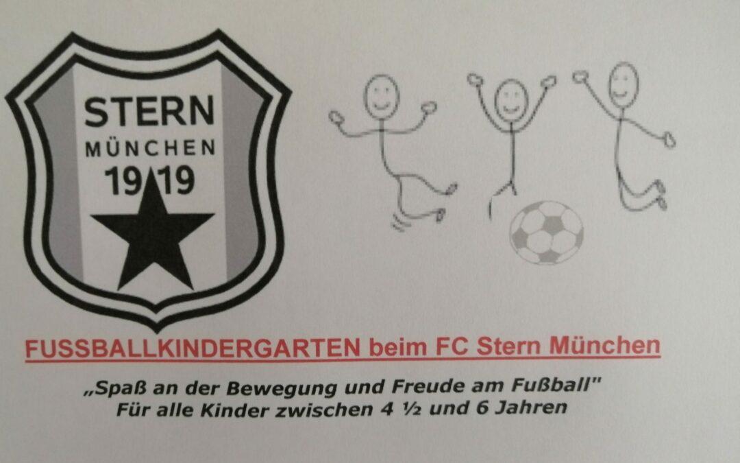 Fußballkindergarten beim FC Stern  :)